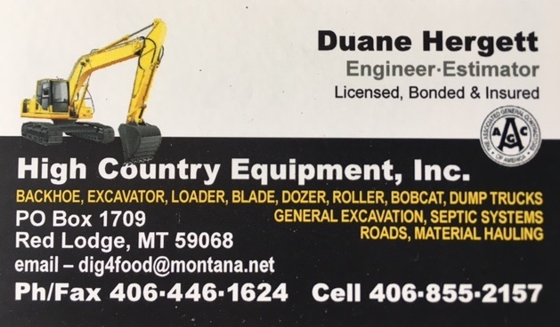 High Country Equipment
